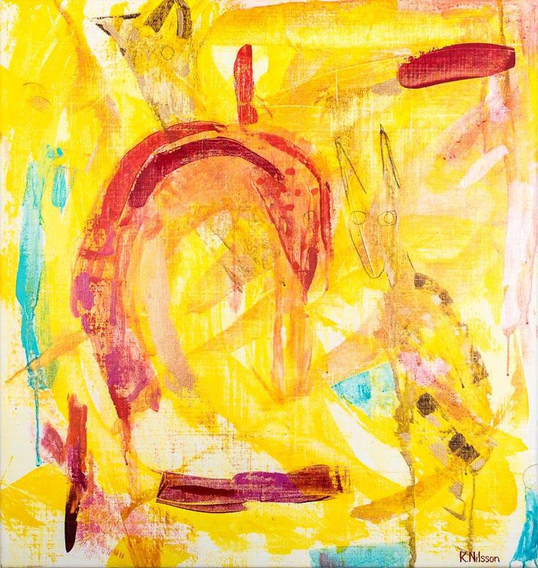 Katarina Nilsson Artwork: Surt sade räven