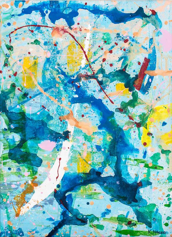 Katarina Nilsson Artwork: Blåsplitter