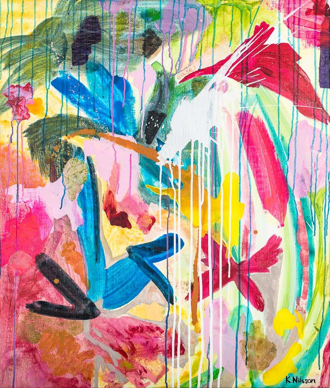 Katarina Nilsson Artwork: Tropical Ease