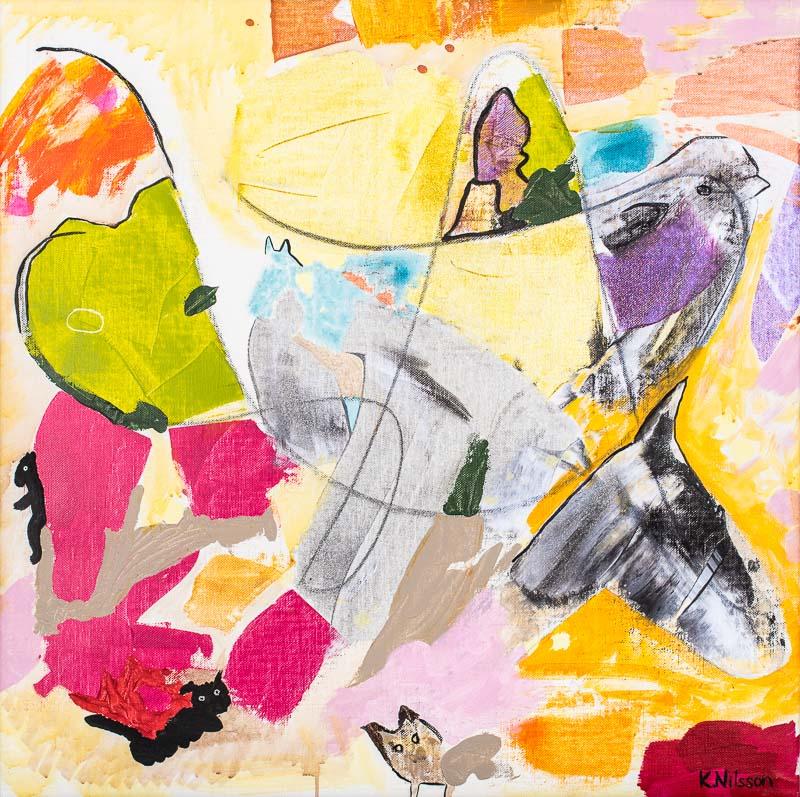 Katarina Nilsson Artwork: Domherren och hästen