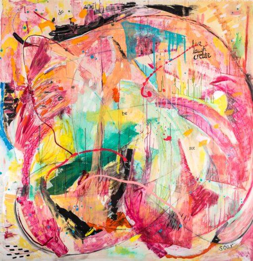 Katarina Nilsson Artwork: Live, Laugh, Create