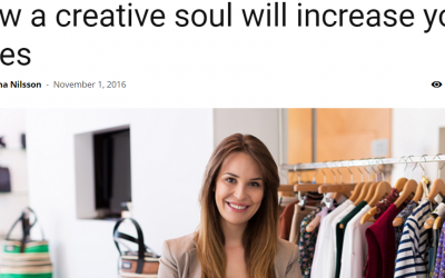 Artikel: How a creative soul will increase your sales
